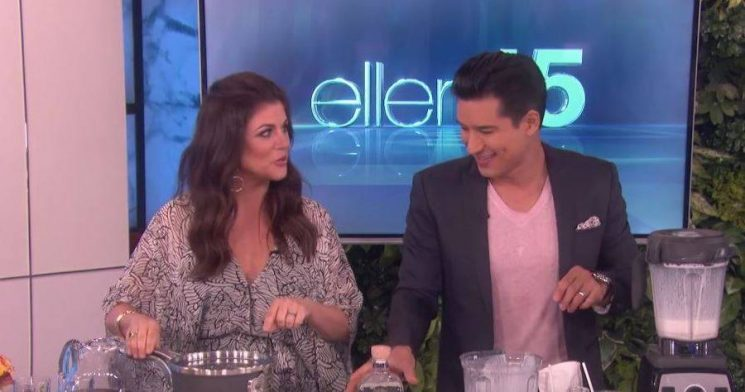 Watch Mario Lopez Reunite With a 'Saved by the Bell' Vet While Guest Hosting 'Ellen'