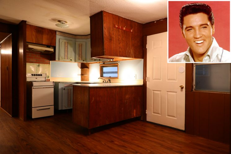 Elvis Presley's 1960s Delta Mobile Home (with a Gold Bathtub) Is Up for Auction: See Inside