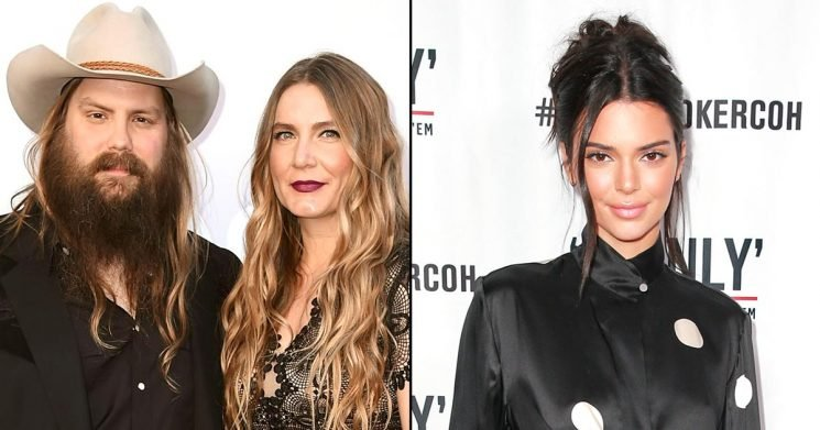 Chris Stapleton's Wife Hilariously Reacts to Kendall Jenner's 'Love' for the Country Star