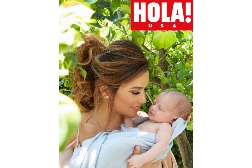 Eva Longoria Shares Sweet New Snap of Son Santiago: 'First Photo Shoot with Mamá!'