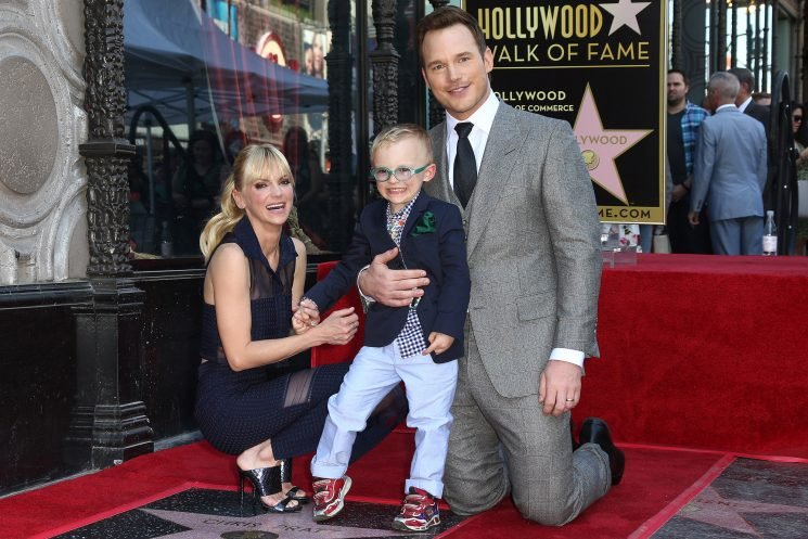 Anna Faris and Chris Pratt Are 'Very Friendly' and 'Happy' When They're with Their Son: Source