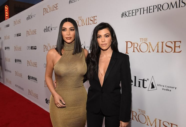 Did Kourtney Kardashian Shade Kim On Instagram With A Diss Track? She Might Have