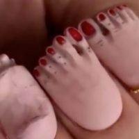 Feet Nails, Weird Beauty Trends, Viral Manicure, Social Media, Nail Art