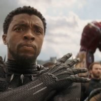 Black Panther cast school Avengers: Infinity War directors in exclusive clip