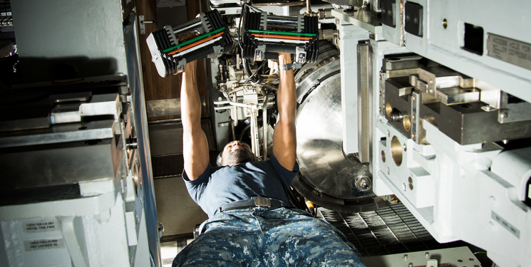 The Extreme Lengths a Submarine Crew Takes to Stay Fit