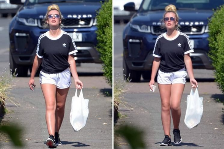 Chloe Ayling buys last minute essentials before Celebrity Big Brother's launch