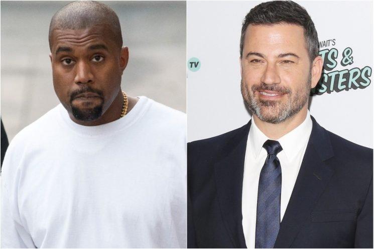 Kanye West denies being 'stumped' on 'Kimmel'