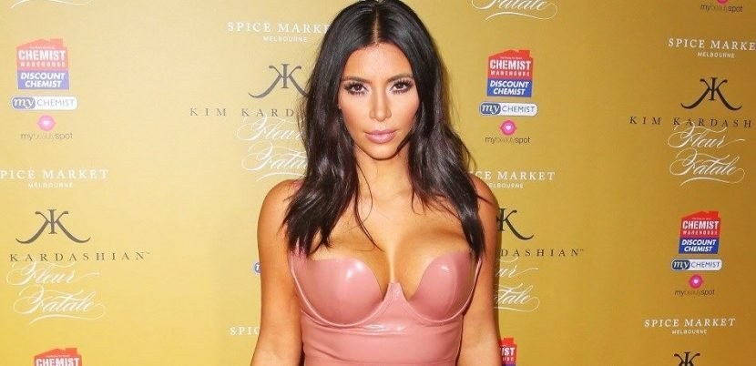 Kim Kardashian Spotlights Weight Loss In Pink Mini-Dress At Kylie's Birthday Party