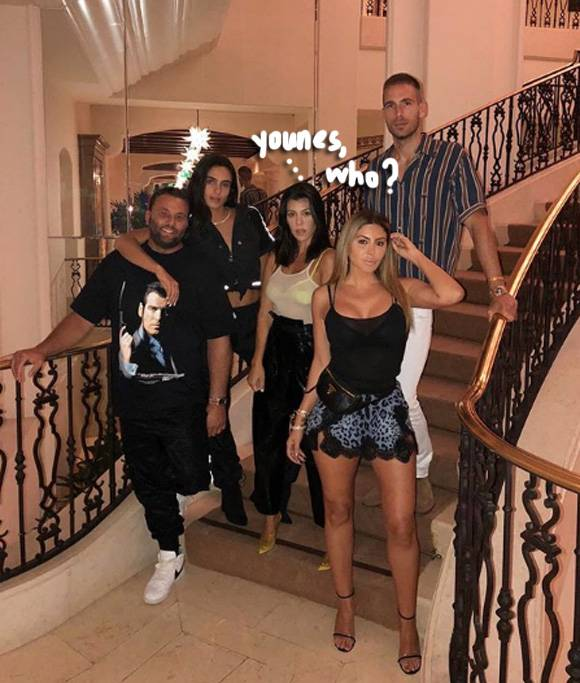 Newly Single Kourtney Kardashian Enjoys A Night Out With Friends After Split From Younes Bendjima