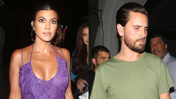 Kourtney & Scott Reunite For Kylie's 21st & Kim Jokes They're Like A 'Married Couple' — Watch