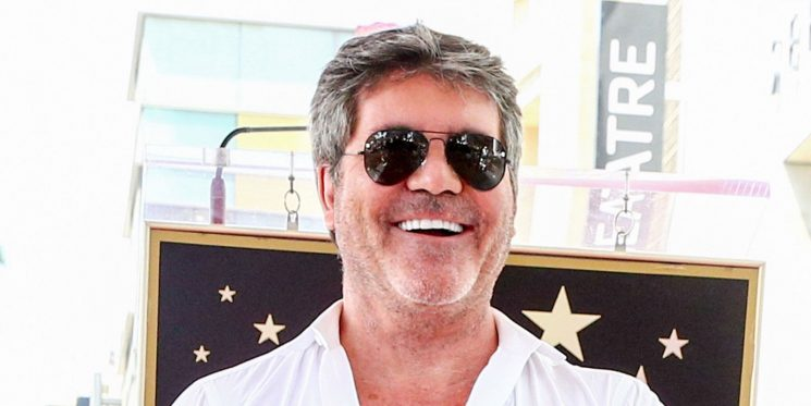The X Factor's Simon Cowell gets his own star on the Hollywood Walk of Fame