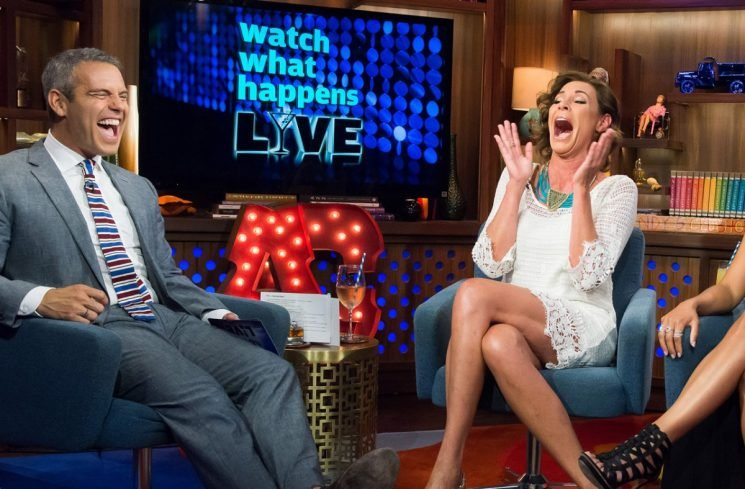 Laughter Therapy!  Luann De Lesseps Jokes About Arrest And Rehab During Performance