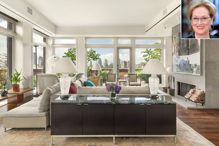 Meryl Streep Lists $24.6 Million N.Y.C. Apartment—See Inside Her Vintage-Style Penthouse
