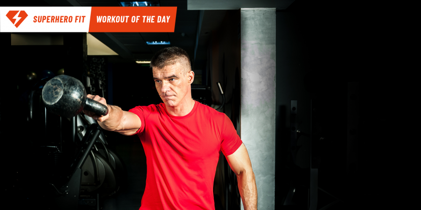 Superhero Fit Workout Move of the Day: Kettlebell High Pull