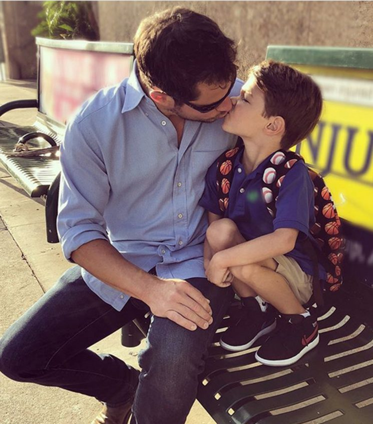 Nick Lachey Jokes Son's First Day of Kindergarten is the Singer's 'Last Day for Public Kisses'