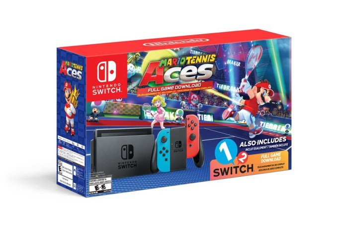 'Mario Tennis Aces' Nintendo Switch Bundle Unveiled
