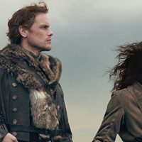 Outlander's Claire and Jamie 'Brave the New World' in Season 4 Poster