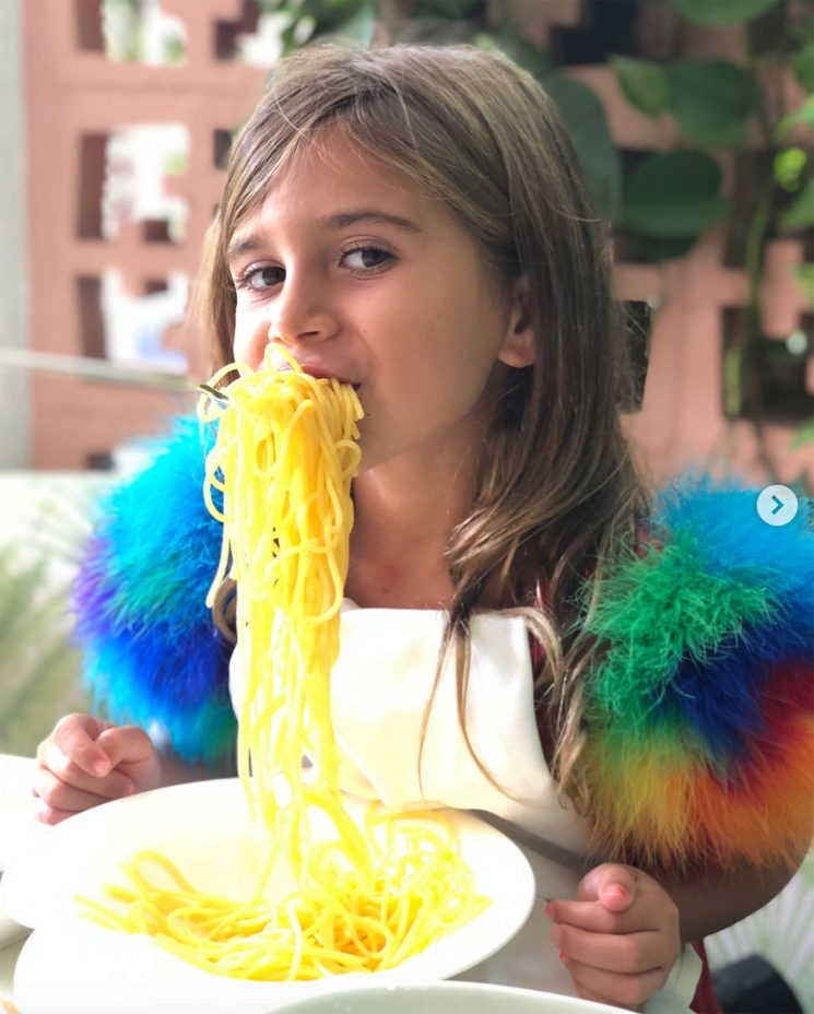 Pasta-tively Adorable! Kourtney Kardashian Spends Quality Time with Her 'Little Lunch Date' Penelope