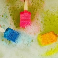 Lush has just released these neon 'paintbrush' bath bombs and fans are going wild for them