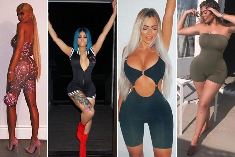 Move over cycling shorts, unitards are now the must-have item stars like the Kardashians are loving