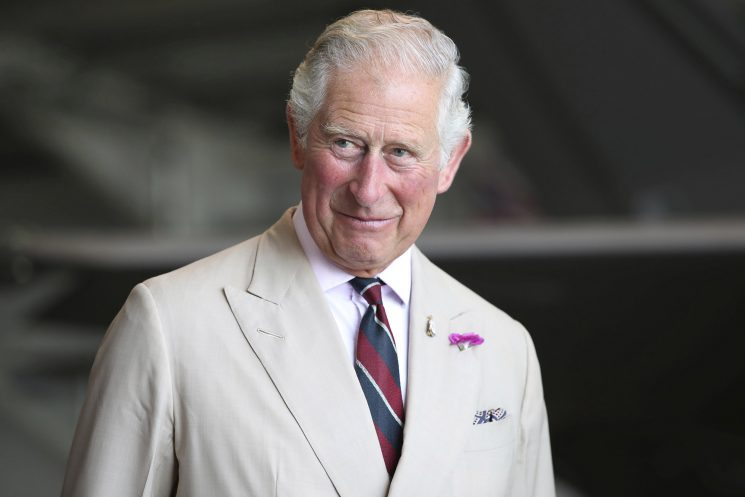 Artwork by Prince Charles on display in Scotland