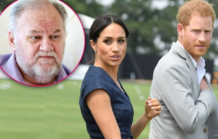 Wall Of Silence! Prince Harry & Meghan Markle Won't Comment On Dad Thomas