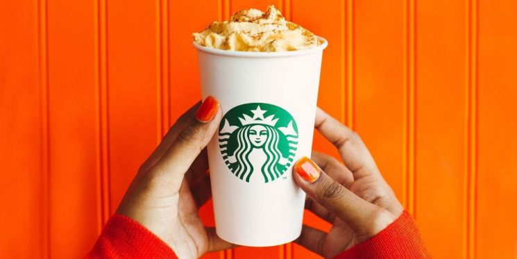 Starbucks Pumpkin Spice Lattes Are OFFICIALLY Back