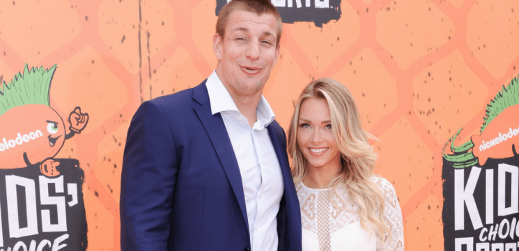 Camille Kostek Posts Cute Photo With Rob Gronkowski At Patriots Training Camp