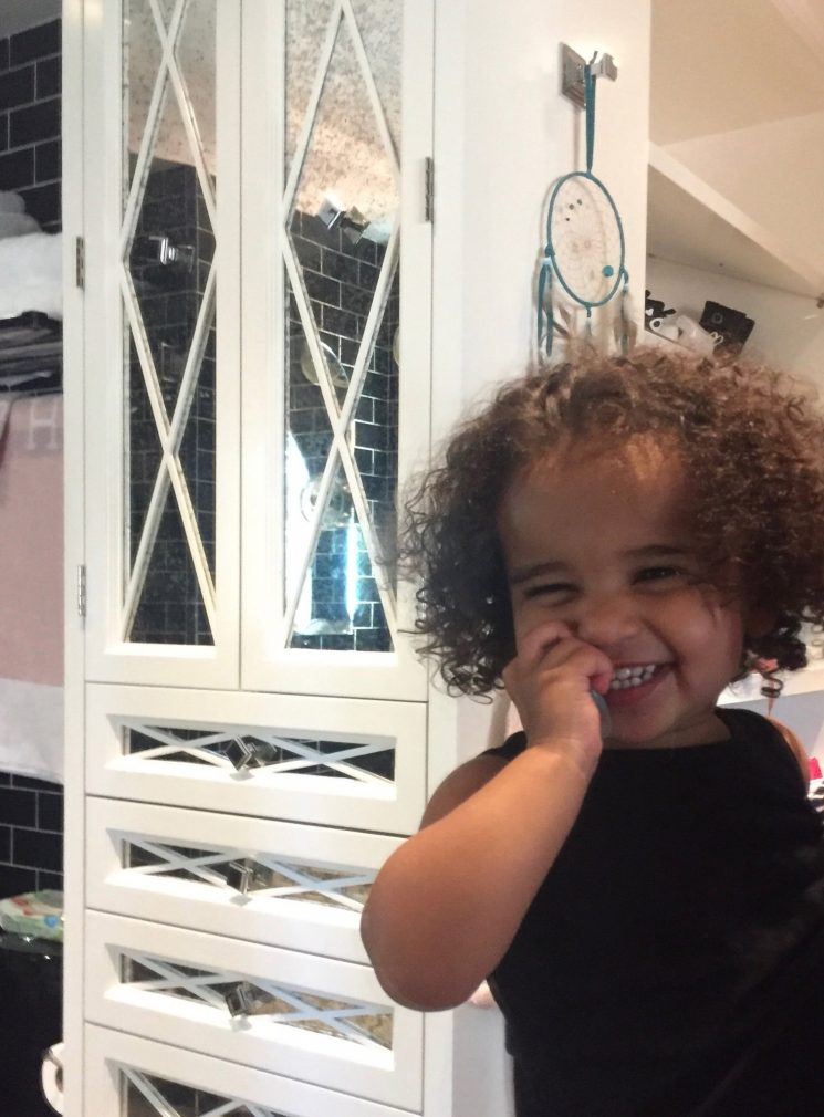 Those Curls! Rob Kardashian's Daughter Dream Is All Smiles and Ringlets in Precious New Photo