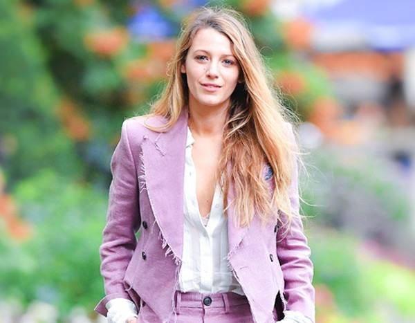 Blake Lively Is Taking Menswear-Inspired Fashion to Another Level