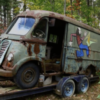 Aerosmith's First Tour Van from 1964 Found Abandoned in the Woods in Massachusetts