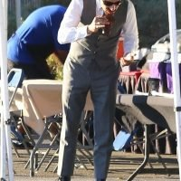 Shia LaBeouf Savagely Eats a Steak with His Bare Hands While Wearing a Suit and Tie