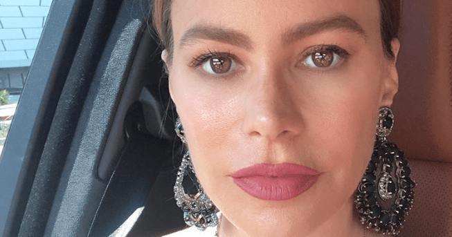 Sofia Vergara Left for Work With Two Different Earrings On