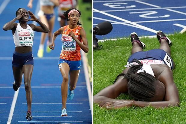 Lonah Salpeter's amazing blunder ruins medal dream in European 5,000m final as she stops a lap early