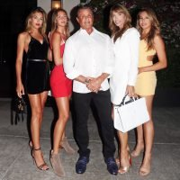 Sylvester Stallone Celebrates Wife Jennifer Flavin's Birthday Alongside Stunning Daughters