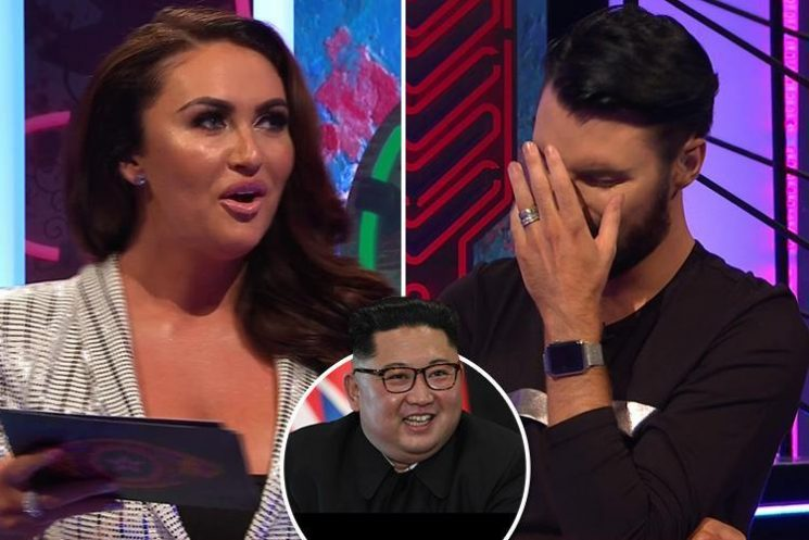 Charlotte Dawson mocks Kim Jong-un's name on Celebrity Big Brother's spin-off show before admitting she has no idea who he is