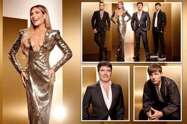 Simon Cowell reveals last year's X Factor was a 'slog' as glam new line-up shots revealed