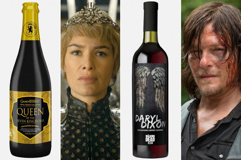 Popular shows are spawning beer and wine lines