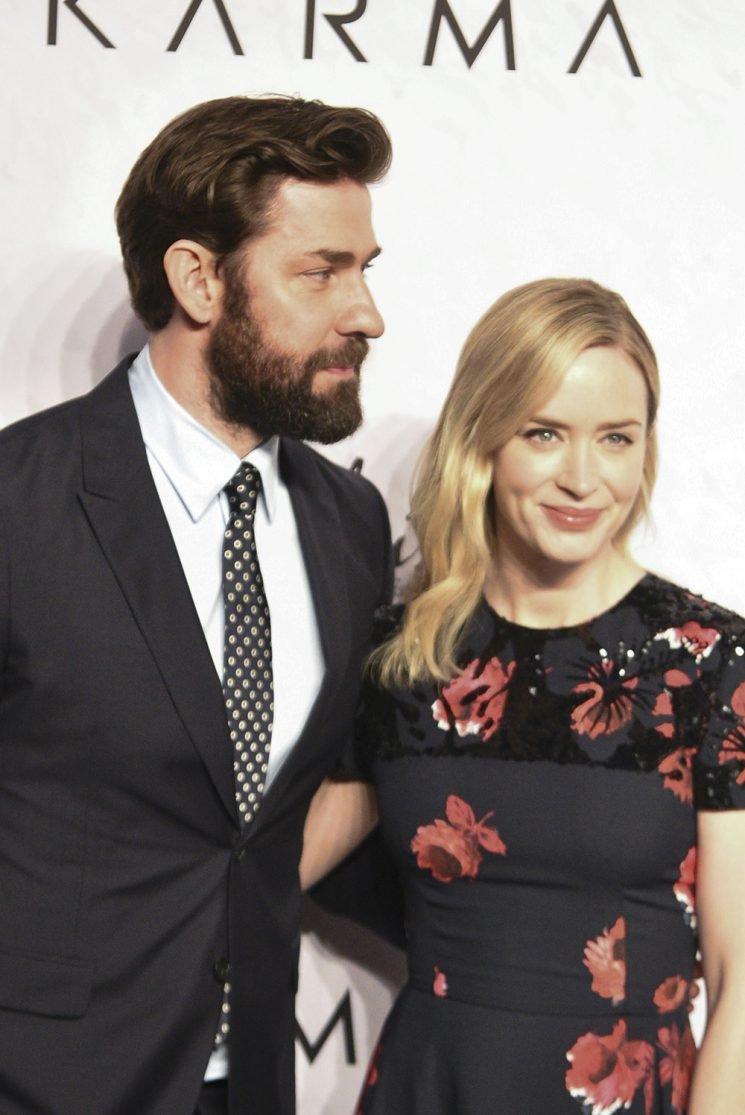 John Krasinski on Emily Blunt: 'I wouldn't have this career if I hadn't met her'