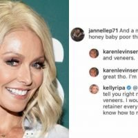 Kelly Ripa Responds to Plastic Surgery Rumors About Her Nose and Teeth