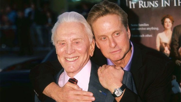 Michael Douglas admits it wasn't always easy having Kirk Douglas for a father: 'People think it's a silver spoon'