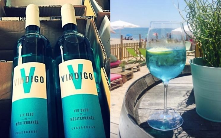 Blue Wine Is About To Be ALL Over Your Instagram Feed This Fall