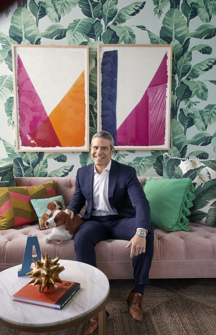 Andy Cohen's Greenrooms on Watch What Happens Live Just Got a Major Facelift (Spoiler: They're Instagram Heaven)