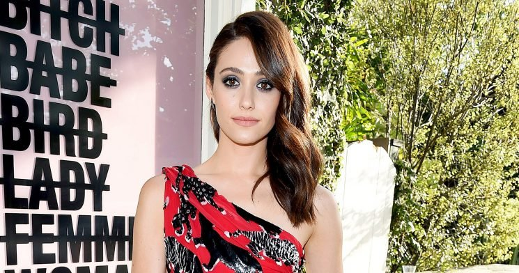 Emmy Rossum Shares Painful Weight Story After Kim K.'s 119 Lb. Reveal