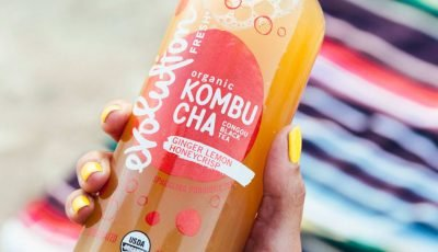 Starbucks Debuts a New Line of Kombucha Drinks, Available in 6 Different Flavors