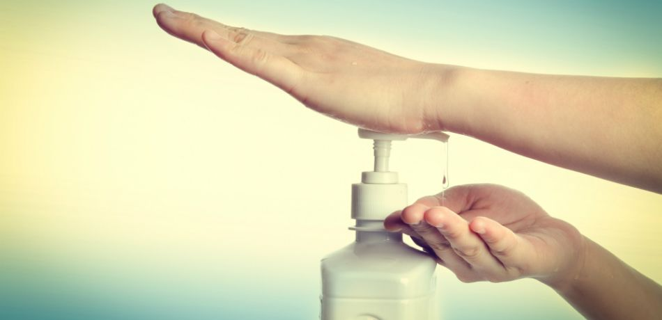 Hand sanitizer might keep you safer than soap and water ...