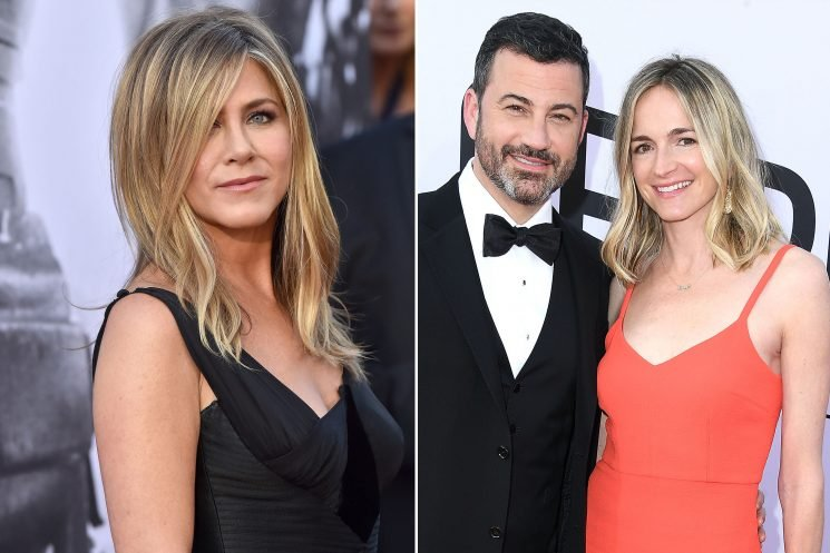 Jennifer Aniston's InStyle story was written by pal Molly McNearney
