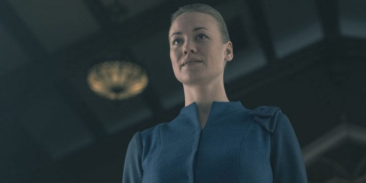"""The Handmaid's Tale star says rape scene cut from show was """"a bit too much"""""""