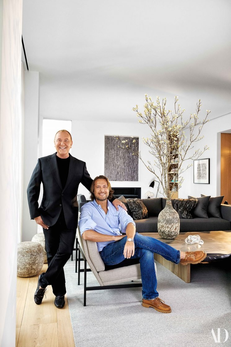 Inside Fashion Icon Michael Kors and his Husband's Private New York City Penthouse