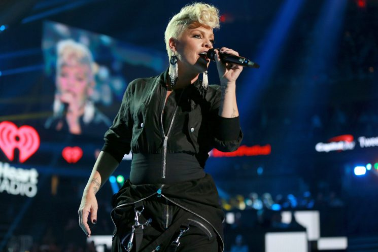 Pink vows return to the stage following recent cancellations